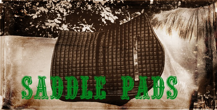 Saddle Pads, Gel Pads and Back Pads